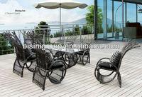 2013 New design Modern rattan wicker restaurant outdoor furniture (BF10-R363)