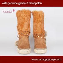 2013 snow boots genuine fur