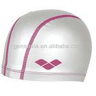 custom print swim cap with PU