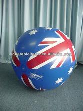 advertising beach ball