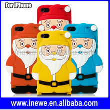 3D Santa Claus Silicone Cover for iPhone 4s iPhone4s