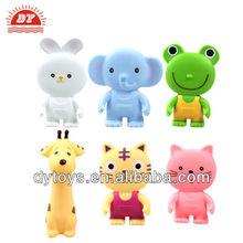 eco-friendly pvc little animal set toys