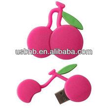 Fruit, cherry Christams promotion gift, Rosh,CE, FCC/ flash drive usb
