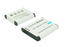 li-ion battery pack 3.7V 1250mah replace camera battery BCN10 for Panasonic rechargeable battery