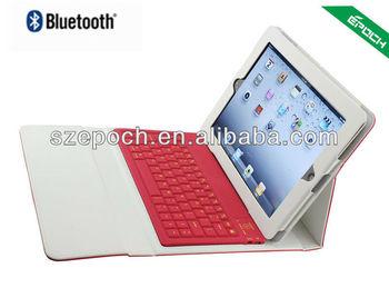 EPOCH bluetooth keyboard for ipad 2 case, wireless arabic layout keyboard case SHENZHEN factory
