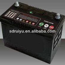 jis Standard panasonic car battery 95D31R/L 12v 80ah