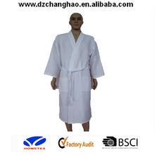 plus size cotton spa japanese kimono robe for men