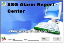 professional gsm alarm monitoring software support GPRS alarm central monitoring