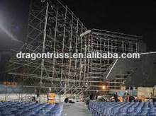 outdoor shows/led lighting/big speaker layer truss