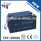 Best price 12v 200ah electric car batteries sale