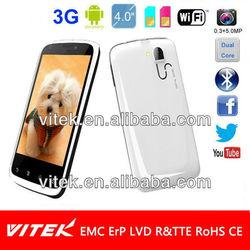 Super Slim 4 INCH Dual Core Phone 3G Phone