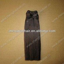 Grade AAA 100% Human Remy Brazilain Straight Hair Weaving /Genuine Human Double Drawn Hair Extension