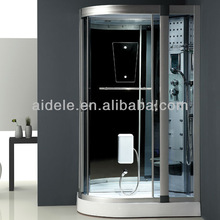 Black super luxurious shower room