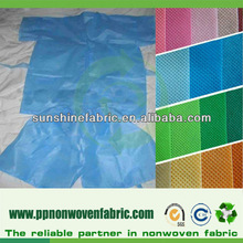 2013 hot sell nonwoven fabric for disposable underwear raw material