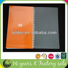 Cheap Clear Cover Notebook Design