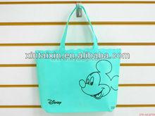 Trendy cotton shopping bag for girls