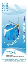 White Small Wind Turbine Generators