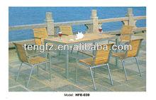 2013 Designer aluminum pipe chair outdoor used patio furniture wholesale