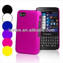 Hybrid Hard Case Cover For BlackBerry Q5+ Screen Protector