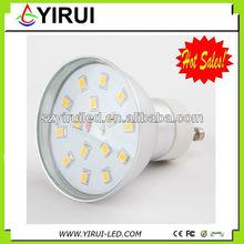 brite light 3W mr16 led bulb smd2835 15pcs led with CE,ROHS approval ,factory price led spotlight