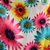shaoxing garment fabric printed chiffon textile with stock