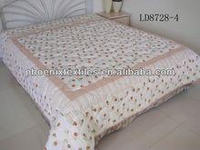 Yantai wholesale sale printed 100% polyster comforter