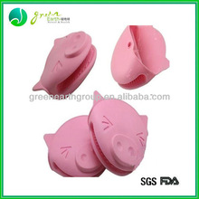2013 Christmas gifts silicone pig oven mitt