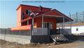 Conception professionnelle cabane en rondins kits avec de structure légère en acier
