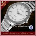 7199 baratos relógios do aço inoxidável
