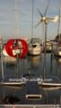 200w farolas pequeños barcos de la marina de viento generador de turbina