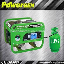 2013 Hot Sales!!!POWERGEN 1KW Home Use LPG Petrol Generator