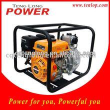 Recoil start belt driven centrifugal water pump