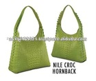 Ladies Medium Crocodile Leather Shoulder Bags