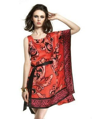 one shoulder caftan dress