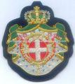 Medieval cruzadas rhodes malta jerusalém ordem patch