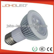 Best heat dissipation Fin-type 5x1w high power led 30 lens e27 led par 20