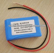 shenzhen supplier lipo 2ah battery 12v rechargeable long life
