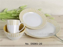 concise style dinner sets porcelain