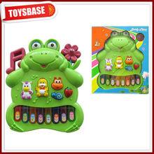 Singing toy frog,frog electric organ