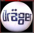 de calidad superior 26 gigante pulgadas bola inflable del pvc para la publicidad