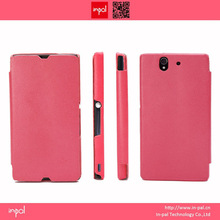High quality handmade all-round cover two mobile phones leather case
