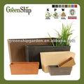Vertical decorativos plantador del jardín desde greenship/20 años de por vida/ligero/protección uv/eco- ambiente