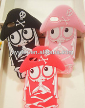 For iPhone5 girl silicone case