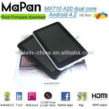 2013 China cheap mini laptop android 4.2, cheap dual core tablet pc,download free play store/MaPan tablet pc 7 inch MX710