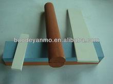 4'' Aluminium Oxide sharpening combination stone kitchen knife
