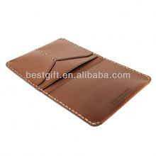 Cowhide business cards waterproofing Case Holder, Ticket Holder