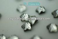 Star shape crystal hot fix rhinestone