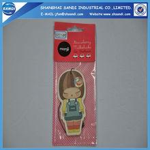 paper cardboard car air freshener