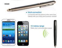 Bluetooth digital smart pen/Ideal bluetooth pen for earphone,bluetooth pen earphone,
