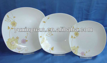 Factory porcelain 18pcs dinner set
